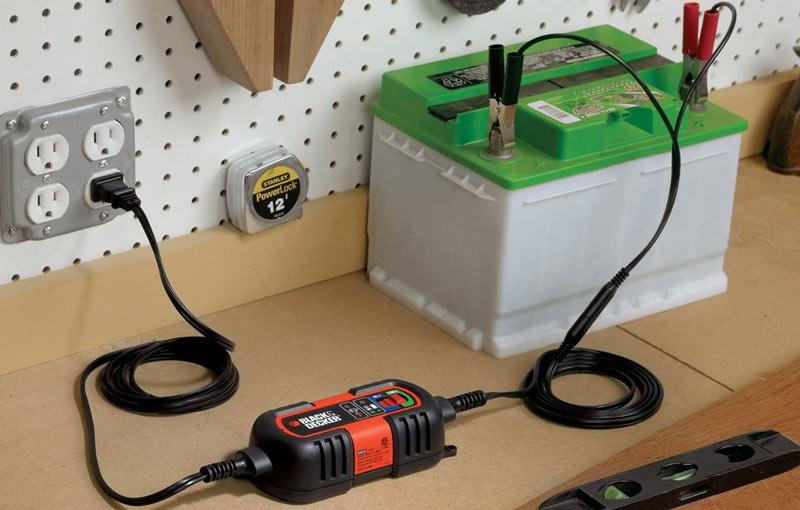 Как правильно зарядить необслуживаемый аккумулятор?