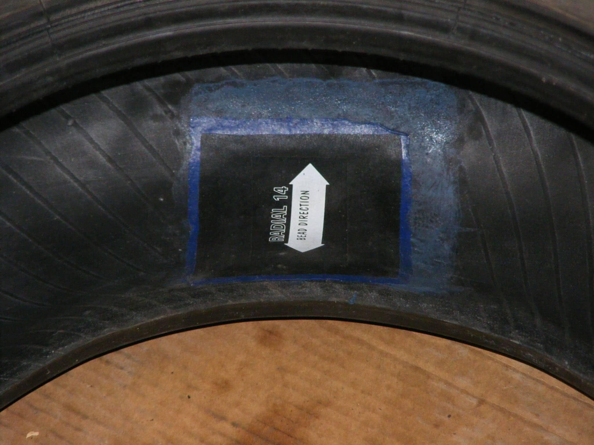 Ремонт бокового пореза бескамерной шины своими руками.