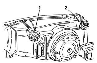 Настройка фар автомобиля