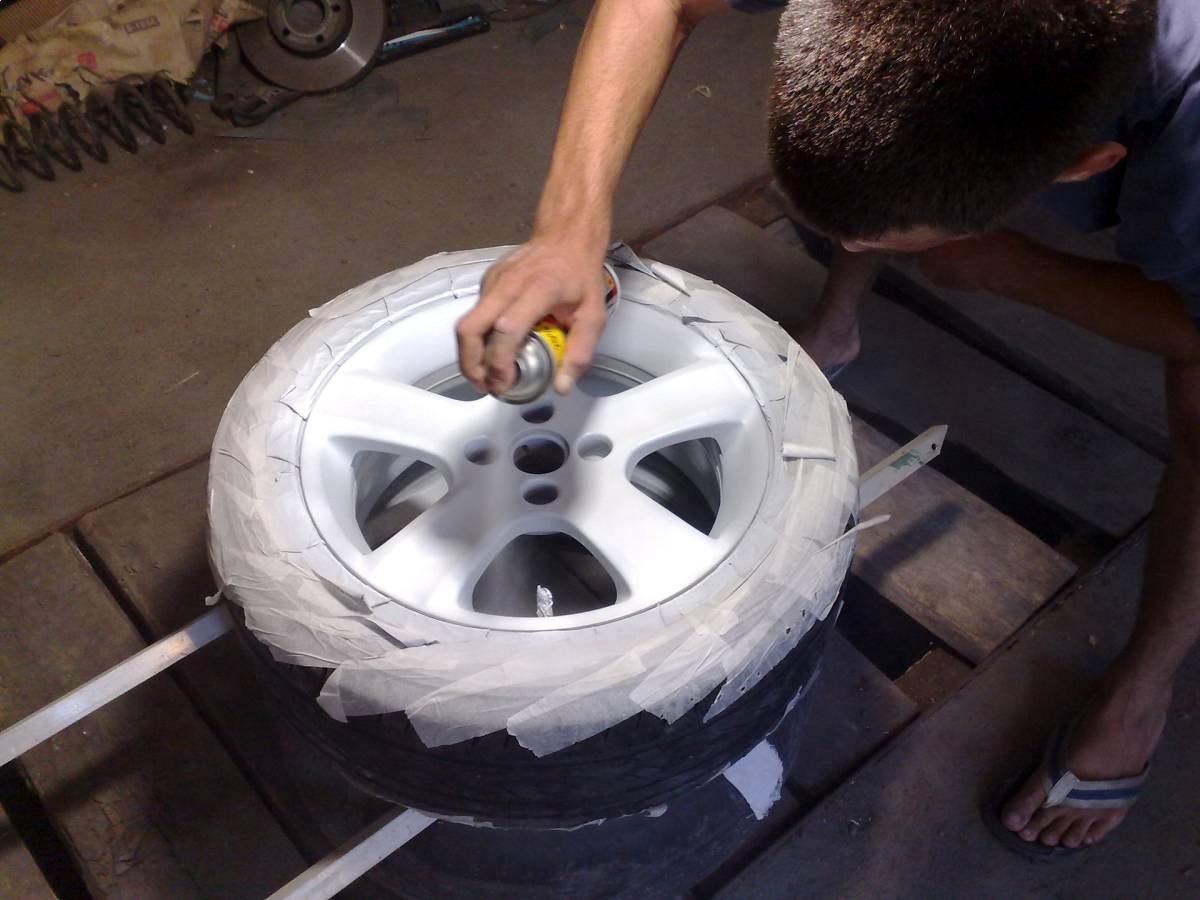 Ремонт и покраска литых дисков своими руками
