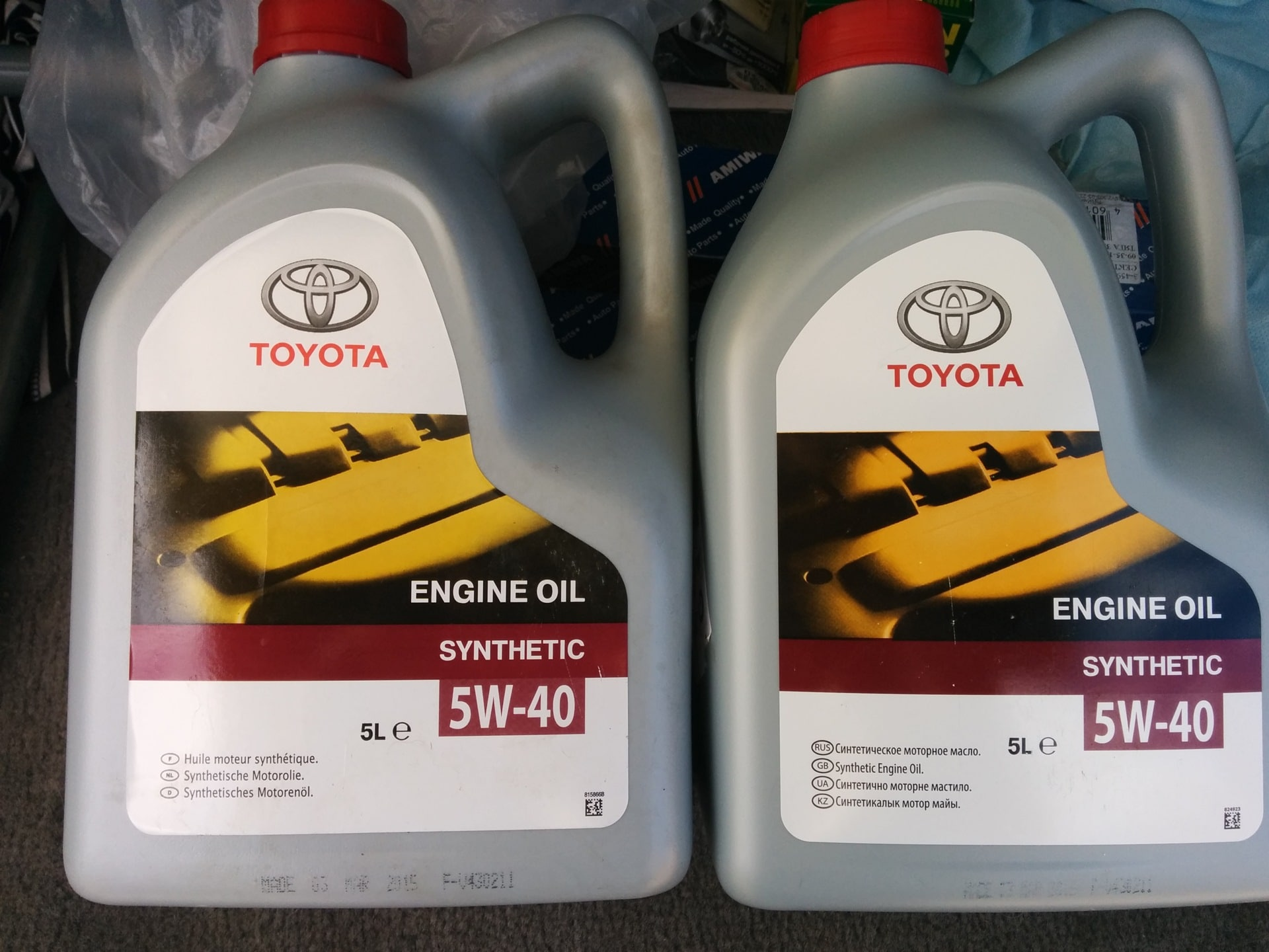 Как определить оригинальное масло Тойота